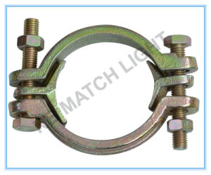 Carbon Steel -Zn Plated Yellow Double Bolt Clamp pictures & photos