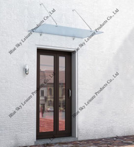 Waterproof Glass Stainless Steel Door Canopy (B900) pictures & photos