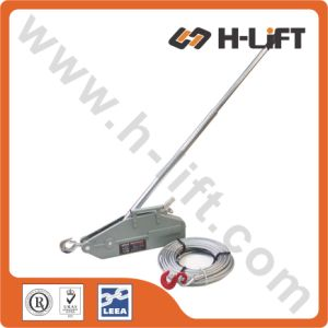 1.6t Aluminum Wire Rope Winch, Wire Rope Pulling Hoist pictures & photos