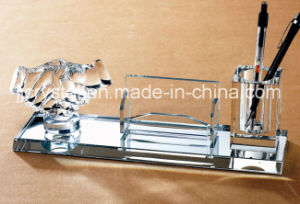 Top Quality Crystal Glass Office Table Decoration for Business Gifts pictures & photos