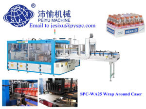 SPC -WA25 Wrap Around Case Packer/ Packing Machine for Mineral Water Bottle