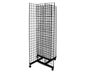 Triangle Wire Mesh Display Rack/Display Stand pictures & photos