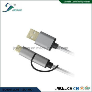 Mobile Phone Micro-USB Type C to Type a/Male2.0 3 in 1 Cable pictures & photos