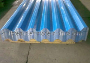 Pre-Painted Corrugated Roofing Sheet (YX35-125-750)