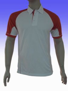 Fashion Nice Cotton/Polyester Panel Polo Shirt (P052) pictures & photos