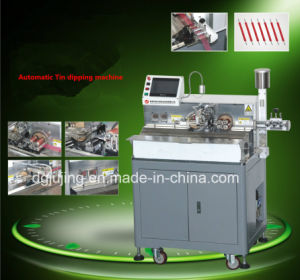 Automatic Wire Tin Dipping Machine pictures & photos