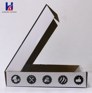 Rigid Corrugated Cardboard Food & Pizza Packaging Packing Box pictures & photos
