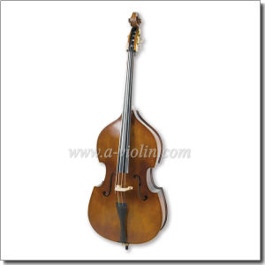Gamba Shape Arched Back Laminated Hardwood Student Double Bass (GDB101) pictures & photos
