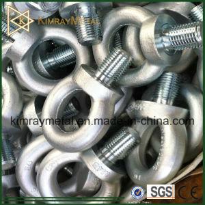 White Zinc Plated Forged Eye Screw DIN580 pictures & photos