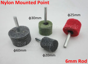 Nylon Mounted Point with 6mm Rod pictures & photos
