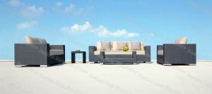Classic Rattan Sofa Set, 5 PC Patio Sofa Set (M3S214)