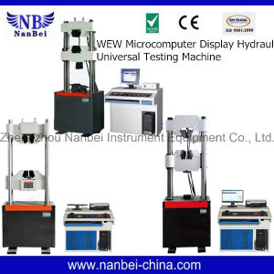 Computer Controlled Universal Testing Machine with Digital Display pictures & photos
