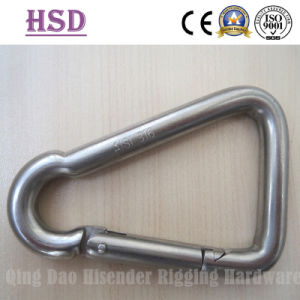 Stainless Steel Triangle Snap Hook, Triangle Snap Hook with Eyelet, with Screw, Commercial Type Snap Hook pictures & photos