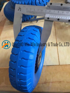 PU Foam Wheel Used on Cart Wheel (260X85) pictures & photos