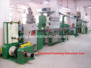 Manufacturing Equipment Cable Wire Chemical Foaming Extrusion Line Cable Production Machine pictures & photos
