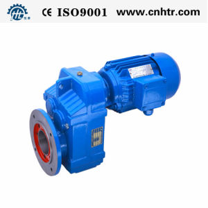 Hf Series Helical Parallel Hollow Shaft with Output Flange Gearbox
