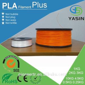 China Facotry Direct Large 3D Printer Filament ABS PLA 1.75mm 7kg 8kg 9kg 10kg One Rolls