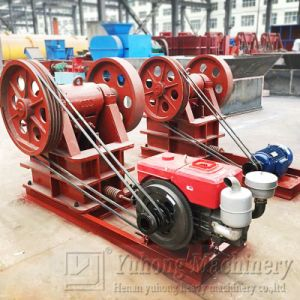 2016 Yuhong Manual Stone Jaw Crusher pictures & photos