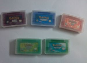 Plastic Clear Case for Gba Game Cartridges