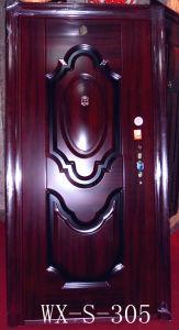Hotsale Steel Security Door (WX-S-102) pictures & photos