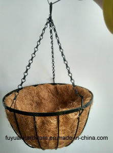 New Wire Chain Hanging Basket pictures & photos