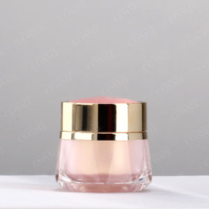 New Parduct Clear Cosmetic Packaging Acrylic Plastic Jar pictures & photos