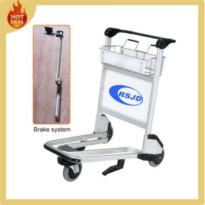 3 Wheels Aluminum Alloy Airport Passenger Baggage Trolley (LG-5) pictures & photos