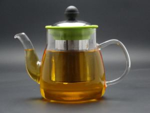 Gt008, Borosilicate Glass Tea Pot 800ml, Glass Teapot 800ml