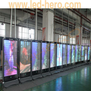 P3.33 LED Ad Player 85inch C-Phone LED Display HD Video Hot pictures & photos