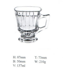 High Quality Glass Mug Wigh Good Price Glassware Kb-Hn0907 pictures & photos