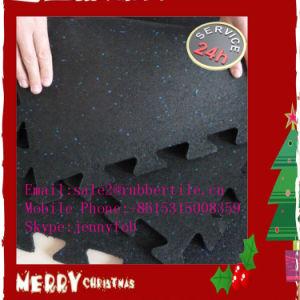 Interlocking Gym Matting, Playground Rubber Flooring, Puzzle Rubber Mat pictures & photos