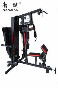Nanjian Three Station Home Gym/Multi Gym/Home Gym with 150lbs Weight Plate pictures & photos