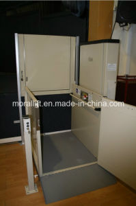 Hydraulic Wheelchair Lift with 2 Stops pictures & photos