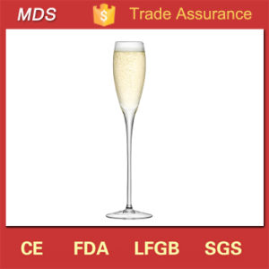 Fashion Style Hand Blown Champagne Flute Glass Manufacture pictures & photos
