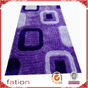 3D Effect Shaggy Carpet Living Room Area Rug