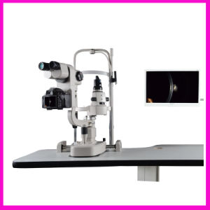 China Top Quality Ophthalmic Equipment Digital Slit Lamp (SLM-4X) pictures & photos