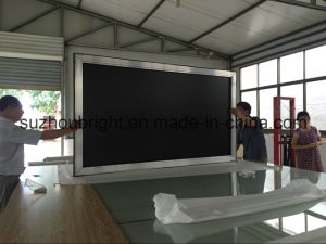 Aluminum Fixed Frame Projection Screen for Home Cinema pictures & photos