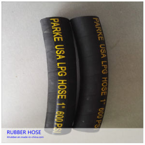 High Presure Flexible Rubber Natural LPG Gas Hose pictures & photos