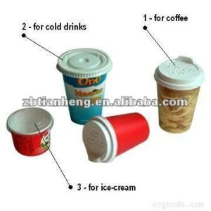 Cup Lids Thermoformimg White Plastic Sheet HIPS pictures & photos