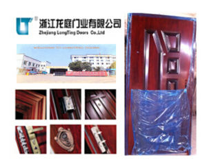 Professional Surface Treatment Steel Door pictures & photos