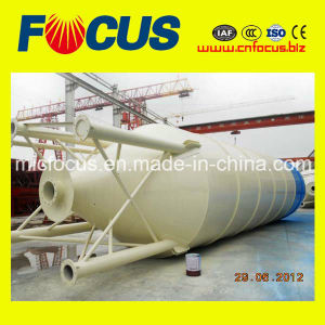 Q235 Steel 50 Ton Welded Complete Type Cement Silo for Powder Storage pictures & photos