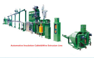 Automotive Insulation Wire Extrusion Line Cable Machine pictures & photos