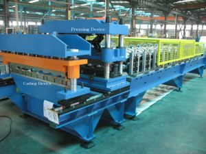 Corrugated Metal Roofing Sheet Cold Roll Forming Machine pictures & photos