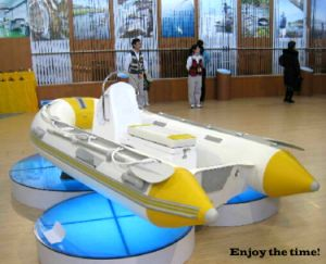 High Quality Fiberglass Rowing Boat Inflatable Boat Small Rib pictures & photos