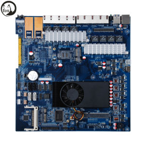 1037u Mini Itx Motherboard with 8 LAN Ports pictures & photos