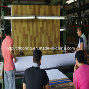 Made in China New Tipo 3m PVC Flooring Roll pictures & photos