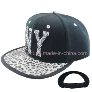 Flat Bill High Profile Snapback Leisure Baseball Cap (TMFB0589-1) pictures & photos