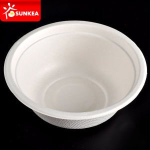 White Sugarcane Pulp / Bagasse Bowl pictures & photos
