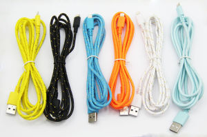 USB Charging Data Cable for Apple iPhone 5/5c/5s/6