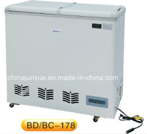 DC12V 24V Solar Power Chest Refrigerator Freezer pictures & photos